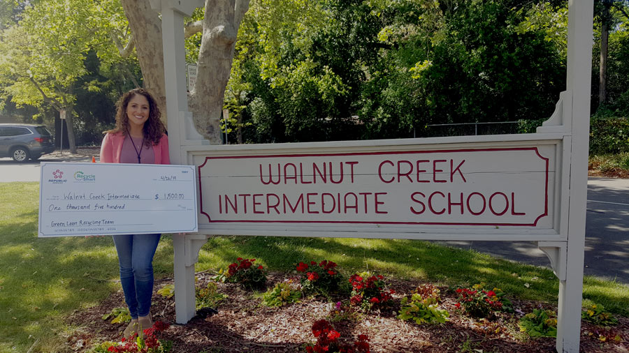 Walnut Creek Recyling Grant Winner